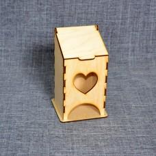 Малый чайный домик с сердечком