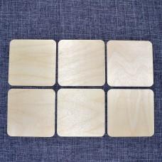 Набор квадратных подставок под горячее
