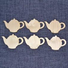 Набор подставок под горячее в виде чайников