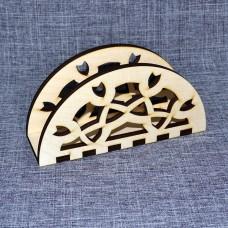 Салфетница полукругом с орнаментом