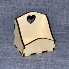 Короб под специи с сердечком