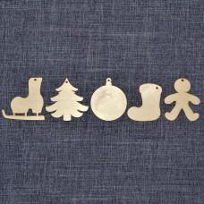 """Набор ёлочных игрушек """"Рождество"""""""