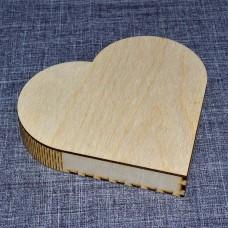 Шкатулка в виде сердца